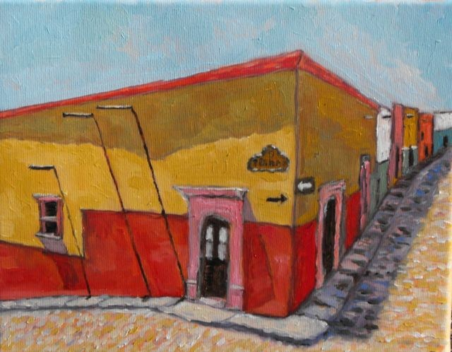 """San Miguel de Allende"" original fine art by William Cook"