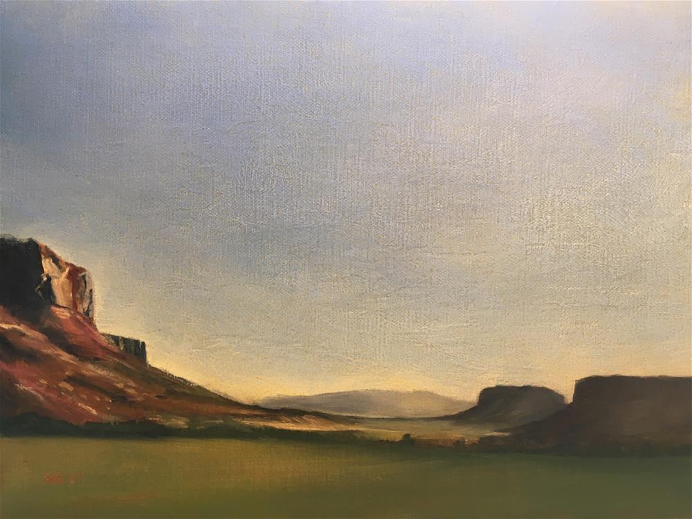 """Professor Valley—Moab, Utah"" original fine art by James West"