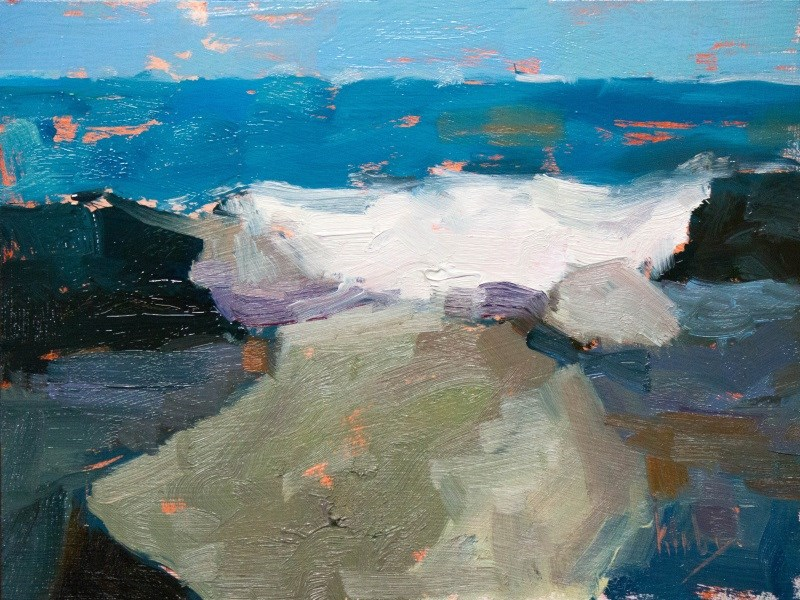"""Piles"" original fine art by Randall Cogburn"