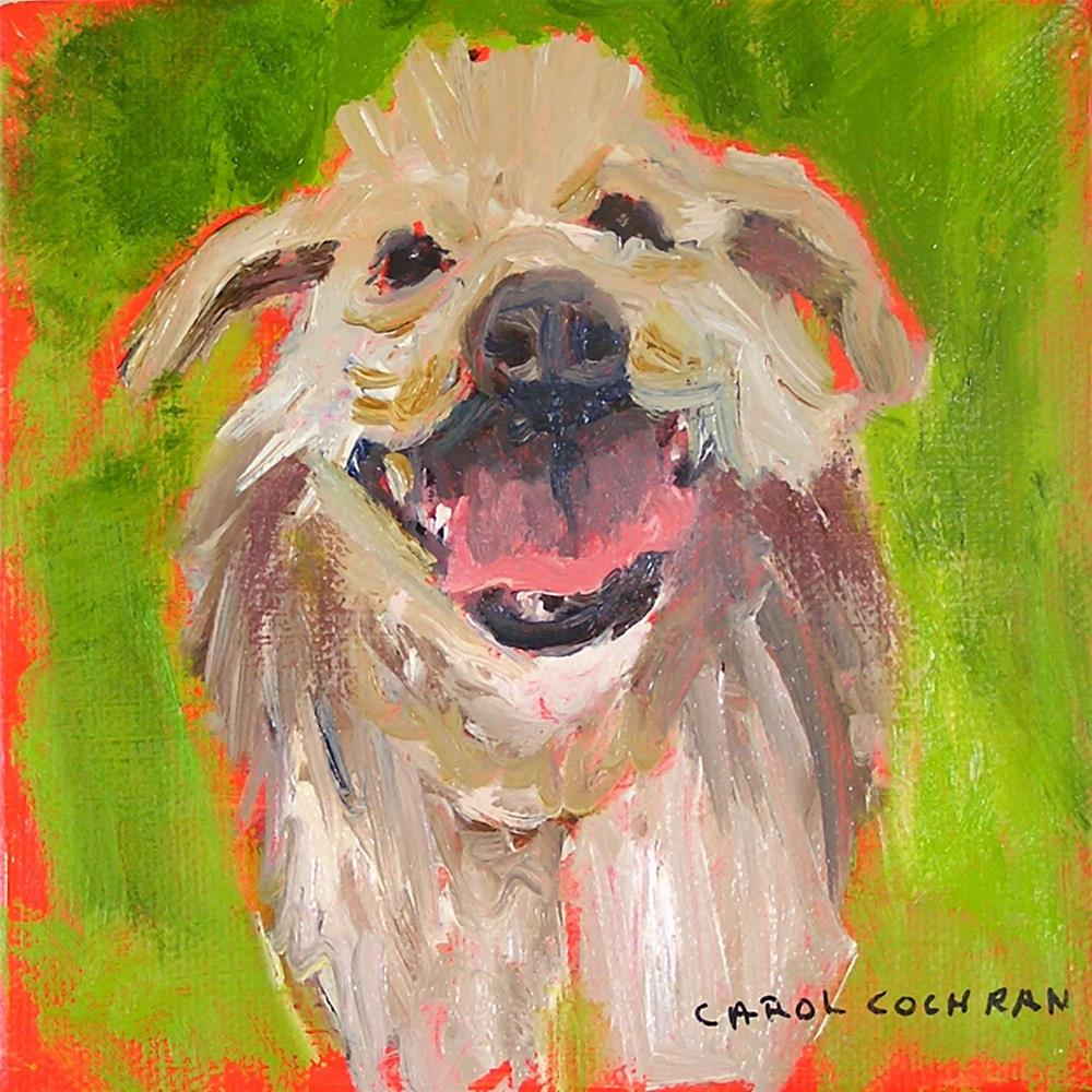 """Here I Am"" original fine art by Carol Cochran"