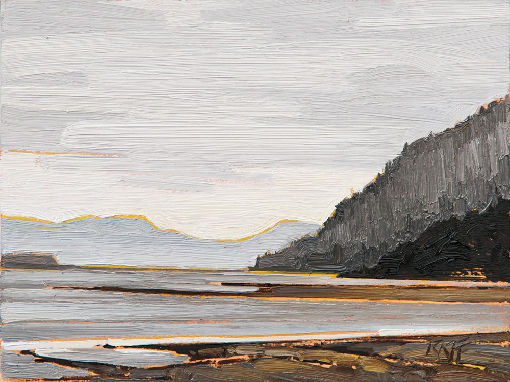 """Sayward: 6x8 oil on panel"" original fine art by Ken Faulks"