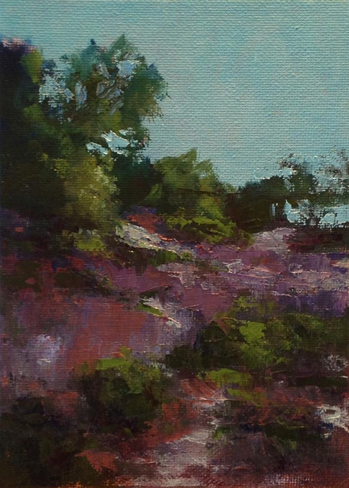 """Purple Day"" original fine art by Marsha Savage"