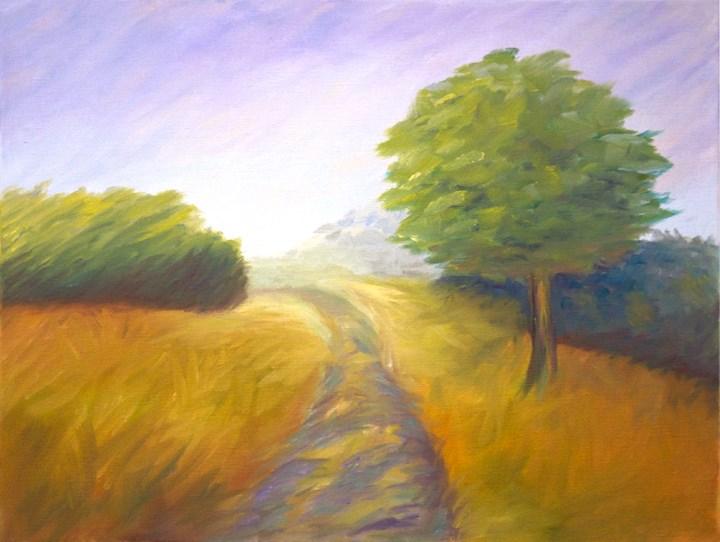 """Sienna"" original fine art by Susan Bertocci"