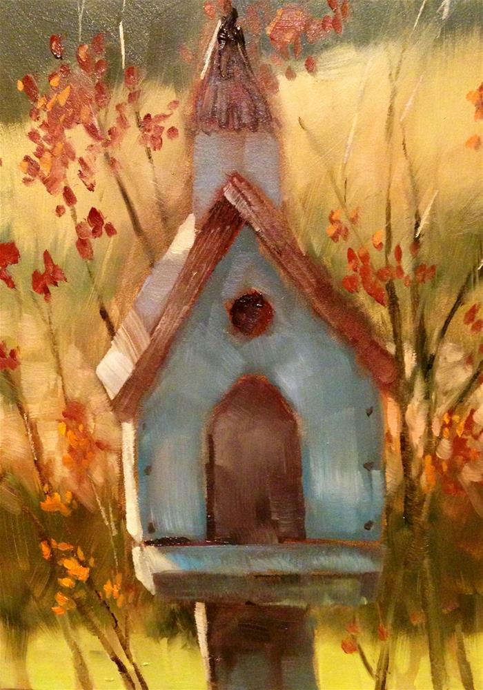 """Safe Haven"" original fine art by Krista Eaton"