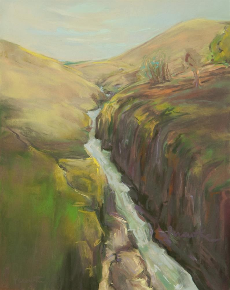 """Klickitat River (Yakima Nation)"" original fine art by Sarah Peroutka"