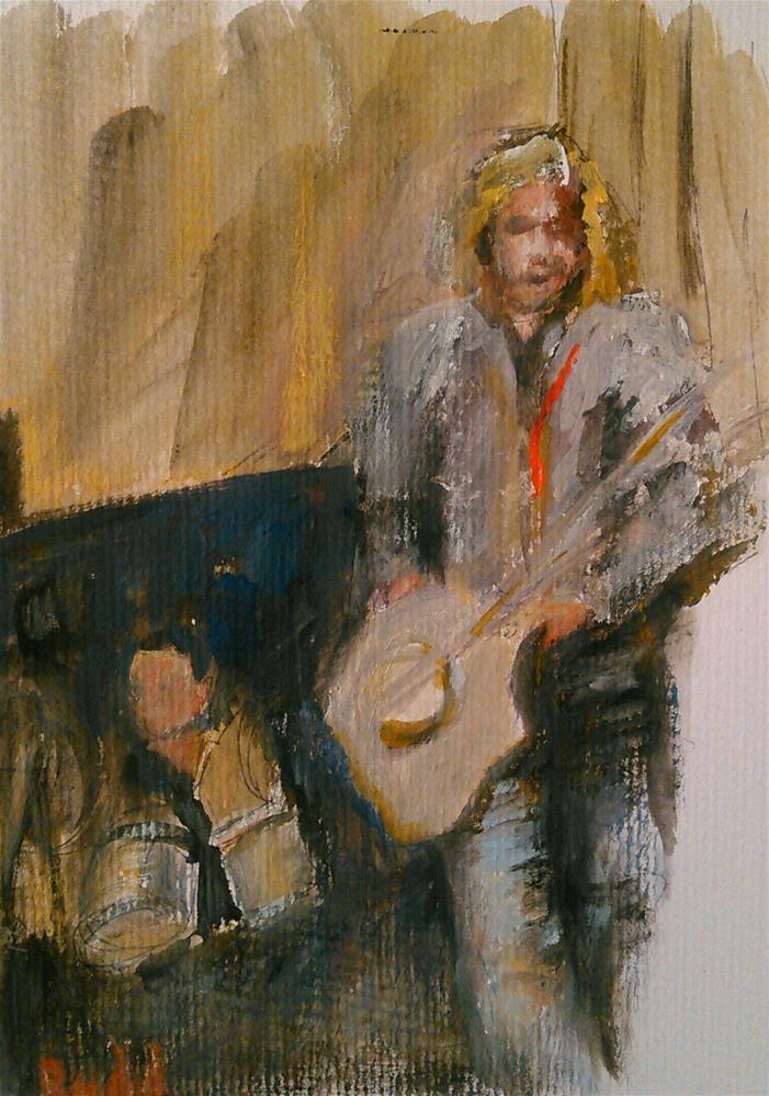 """Instrumental"" original fine art by Ann Rudd"