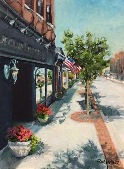 """Eat at Joe's"" original fine art by Terri Buchholz"