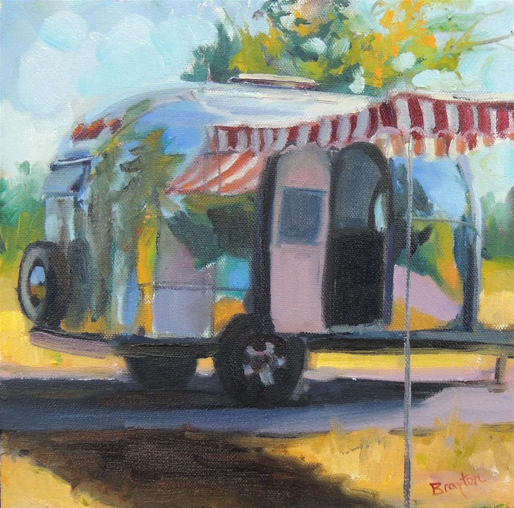 """Daydreaming"" original fine art by Wendy Brayton"