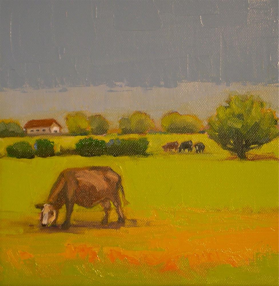 """Pasture Land"" original fine art by Donna Walker"