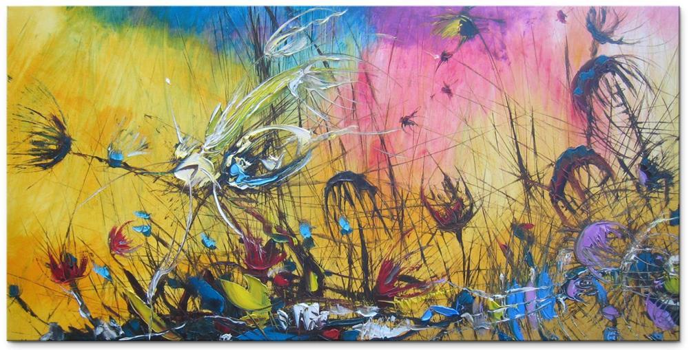 """Invisible spirit"" original fine art by Elena Lunetskaya"