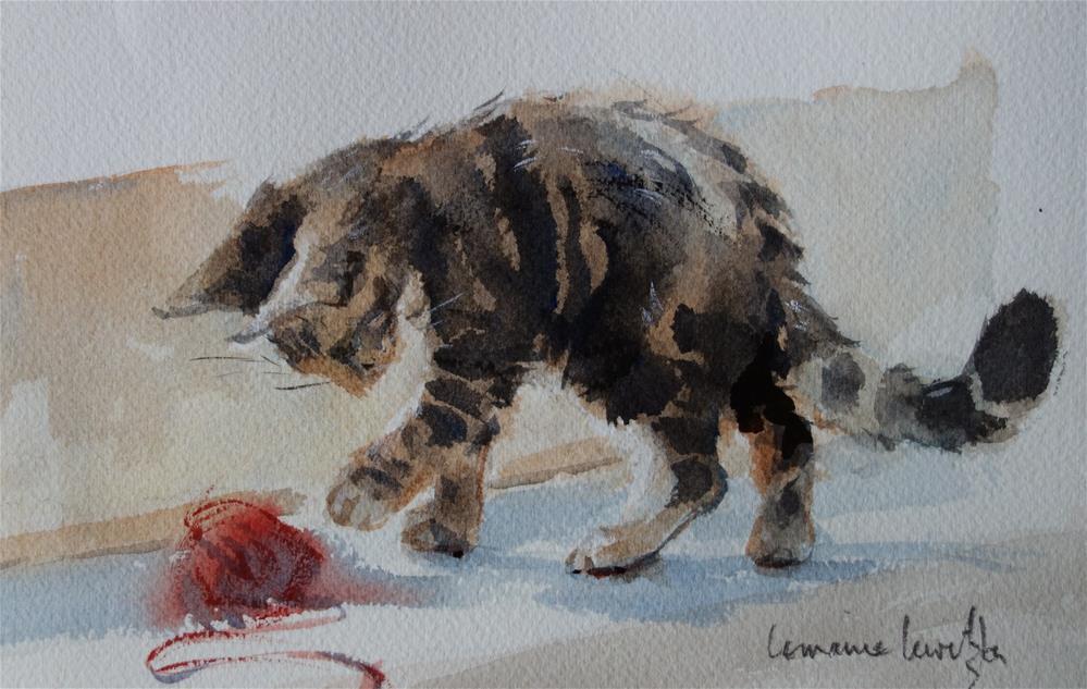 """Temptation"" original fine art by Lorraine Lewitzka"