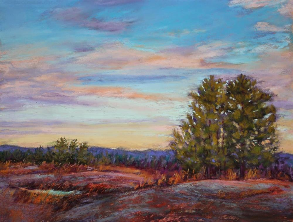 """Arabia Mountain"" original fine art by Sharon Lewis"