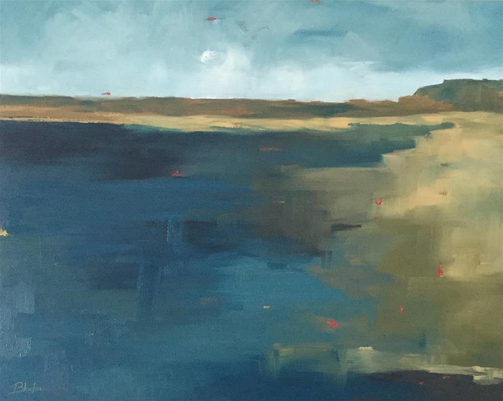 """The Shore"" original fine art by Janet Bludau"