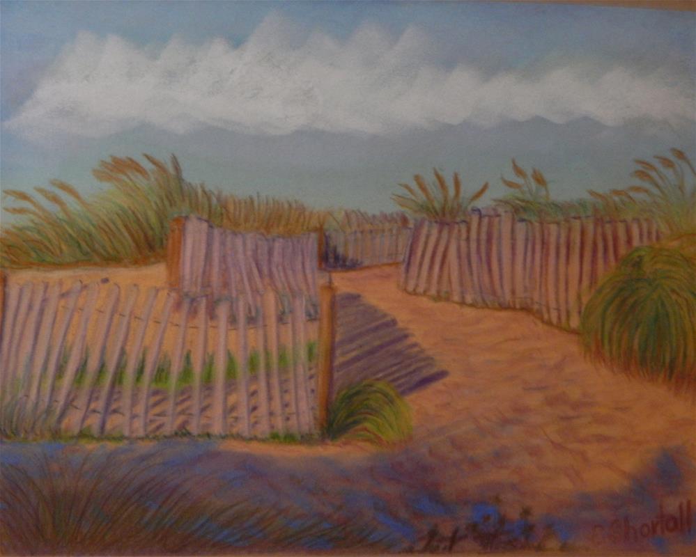 """Fenwick Dune"" original fine art by Elaine Shortall"
