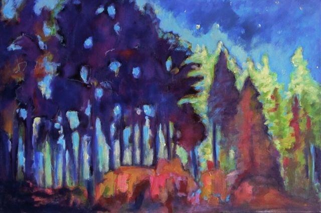 """Evening Glow"" original fine art by Patricia MacDonald"