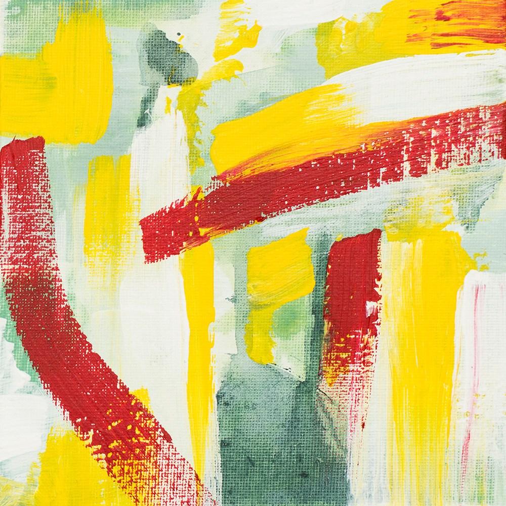 """Spring Garden II"" original fine art by Franziska Schwade"