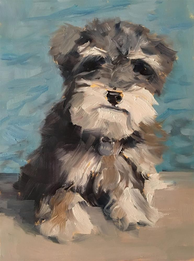 """Jellybean"" original fine art by Deborah Newman"