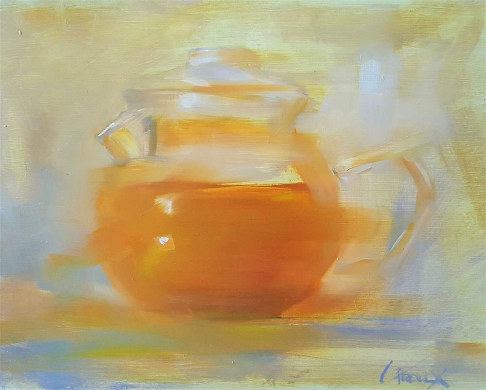 """Steeped Tea"" original fine art by Cory Proulx"