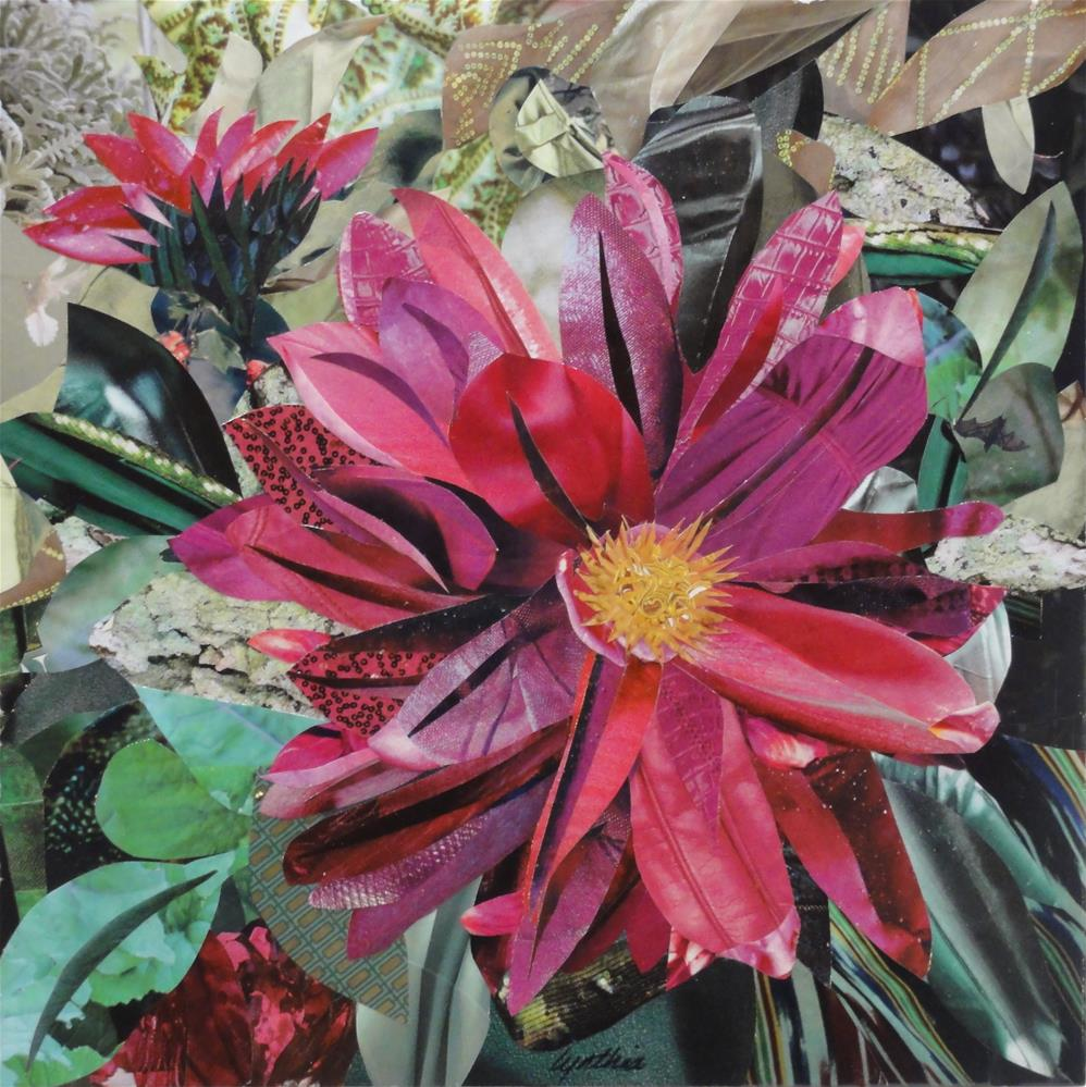 """Dahlia, the Valley Flower"" original fine art by Cynthia Frigon"