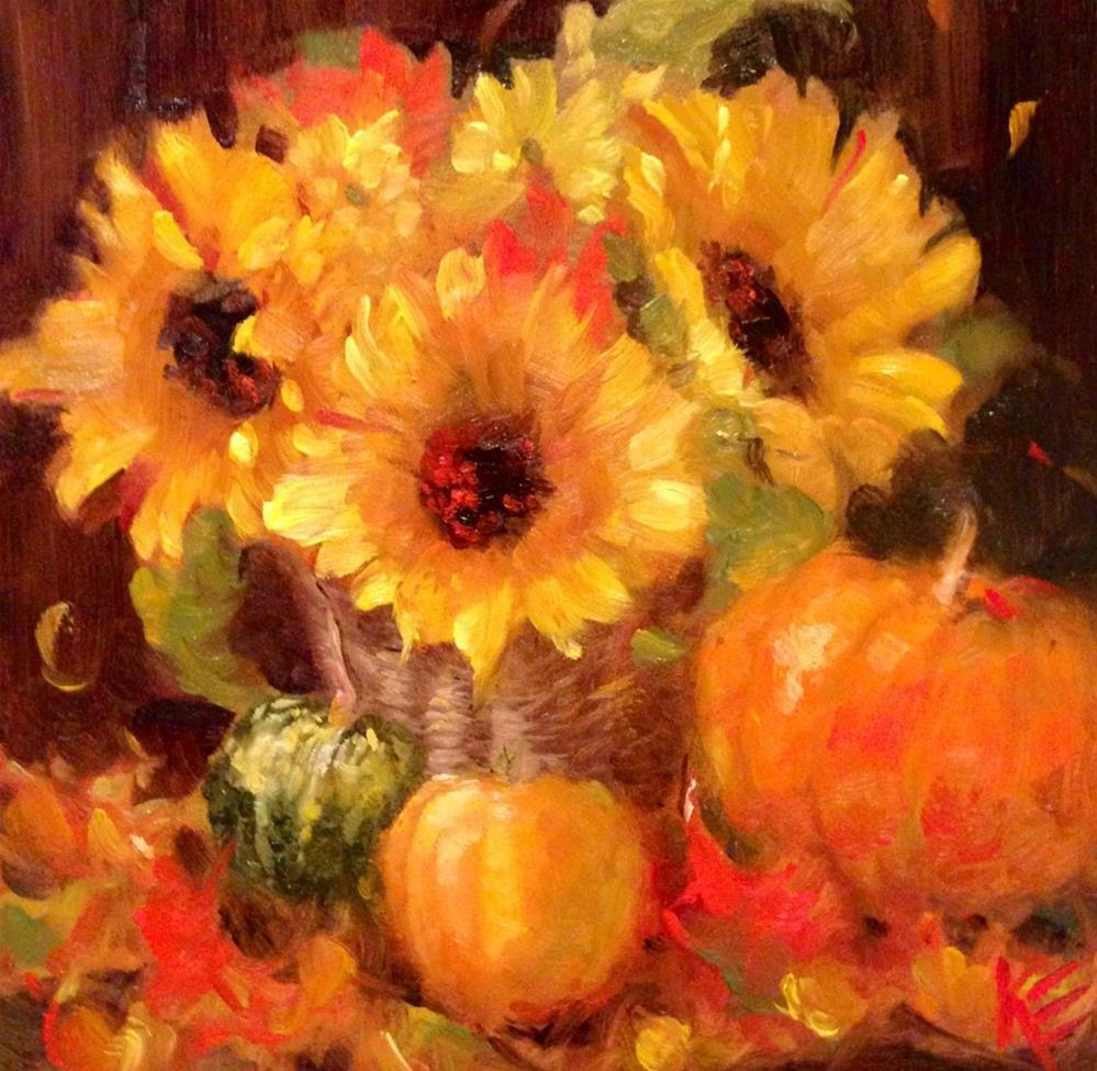 """Autumn Spice"" original fine art by Krista Eaton"