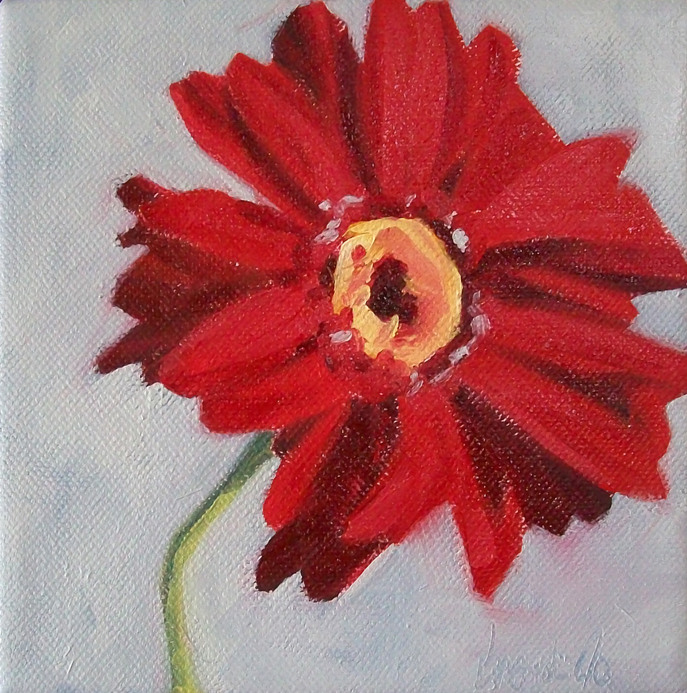 """scarlet"" original fine art by Brandi Bowman"