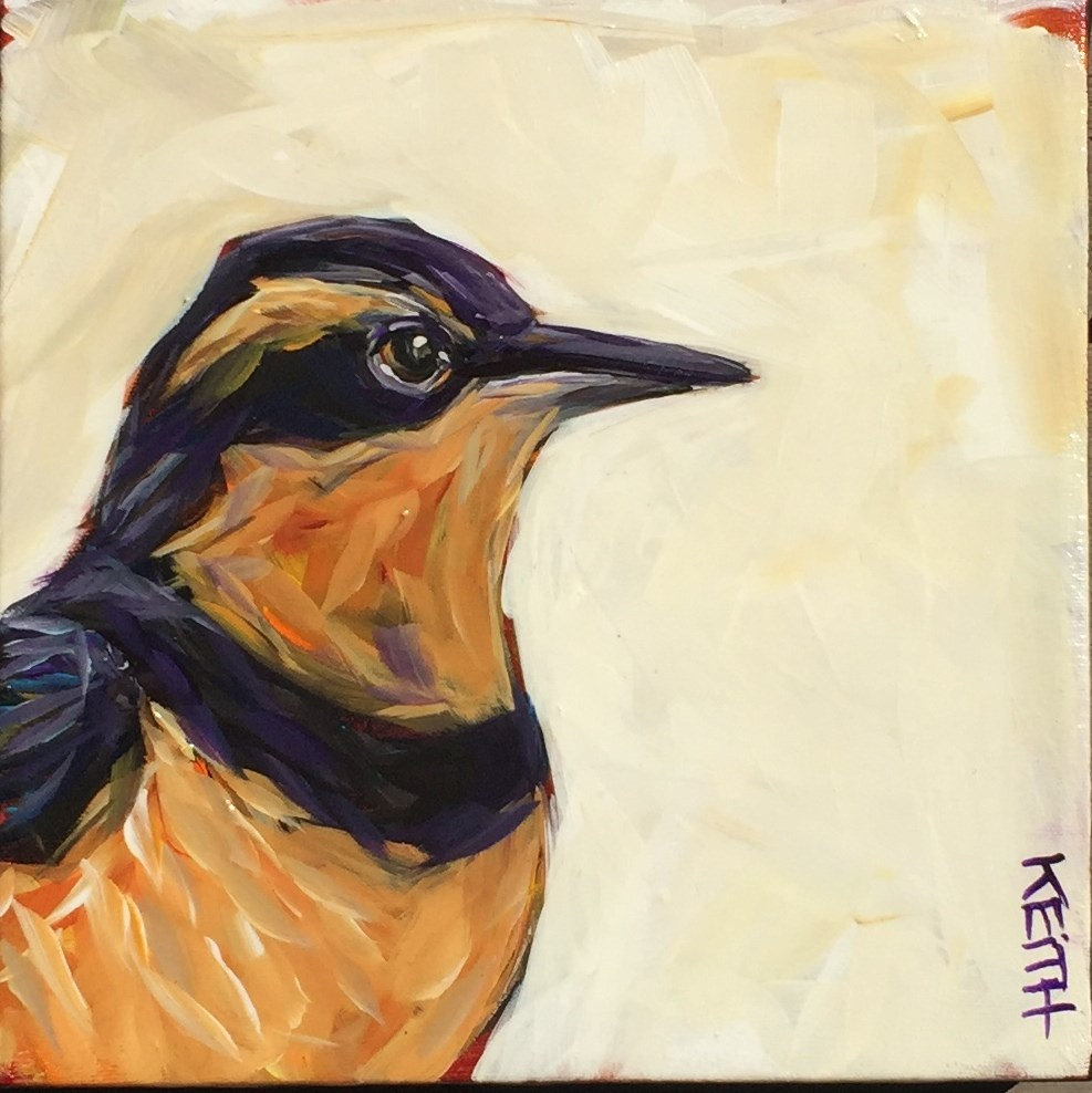 """Thelma"" original fine art by Kandice Keith"