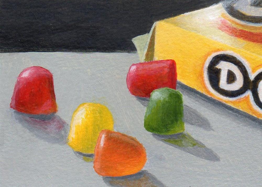 """On the Dot"" original fine art by Debbie Shirley"