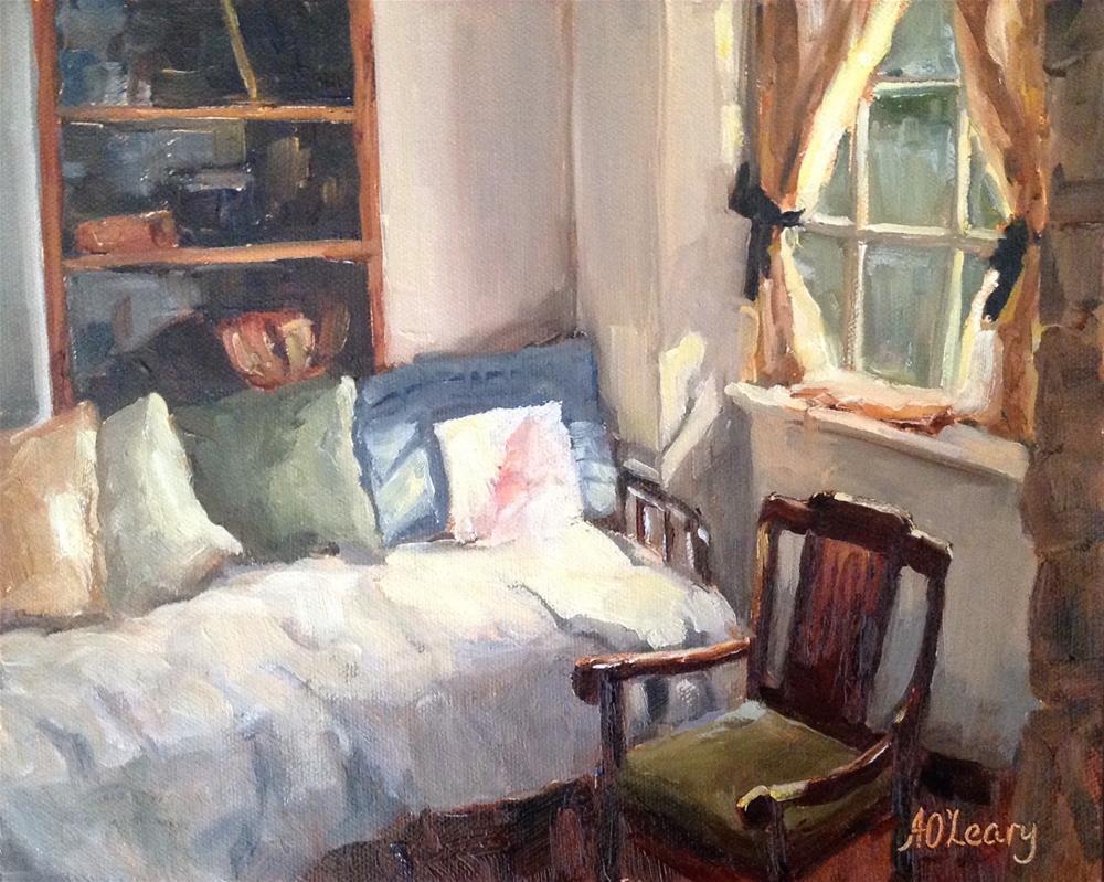 """Rahe Farm House"" original fine art by Alice O'Leary"