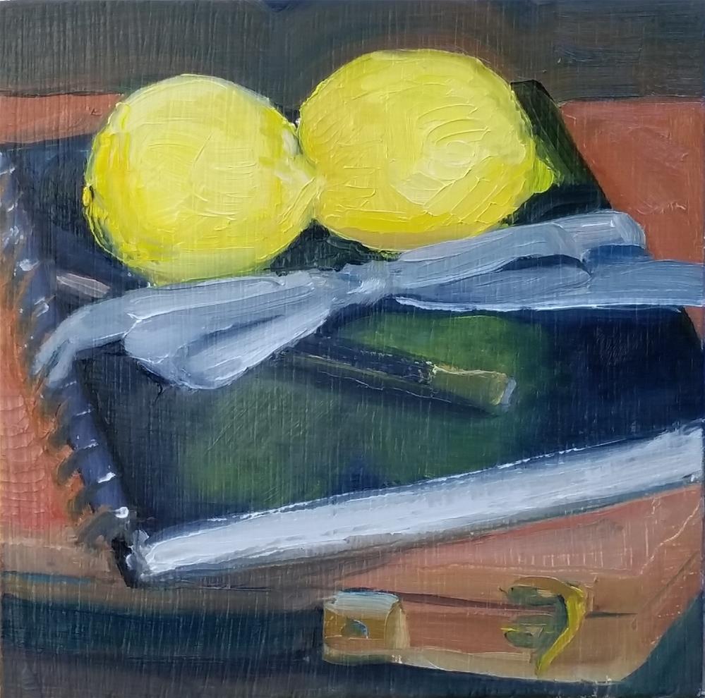 """Tools of the Trade"" original fine art by Kim Homes"