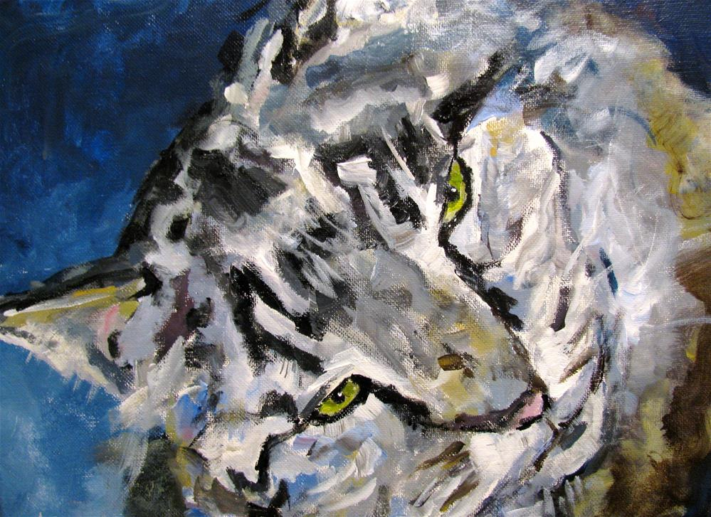 """Sweet Kitty"" original fine art by Susan Elizabeth Jones"