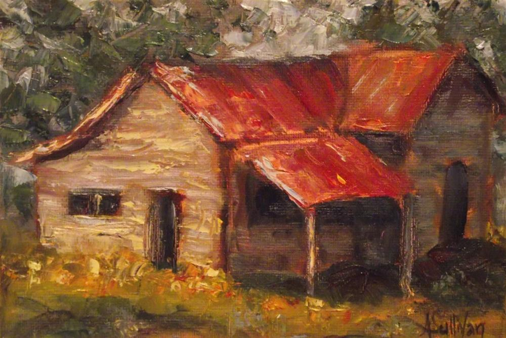 """The Far Away House"" original fine art by Angela Sullivan"