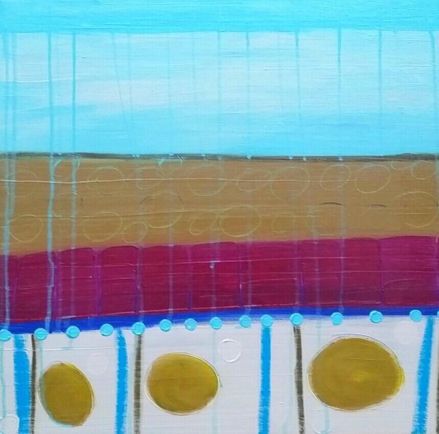 """In Between Summer"" original fine art by Christy Tremblay"