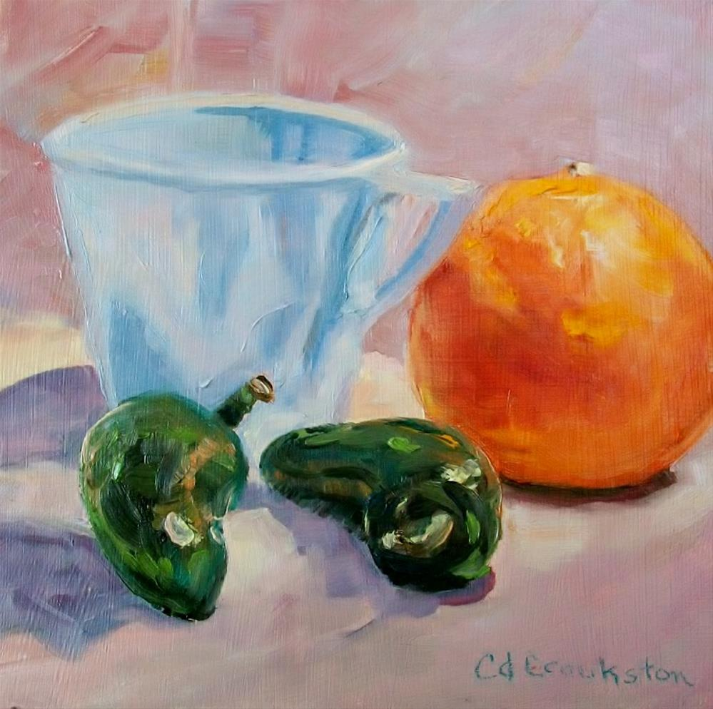"""Premix Challenge"" original fine art by Catherine Crookston"