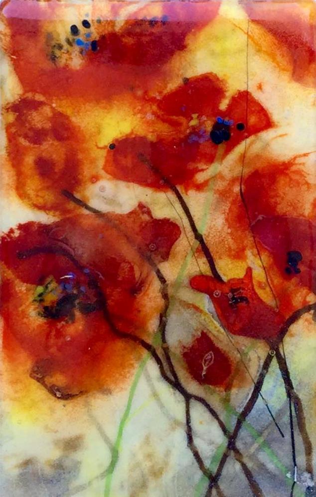 """Poppy Memories"" original fine art by Kristen Dukat"