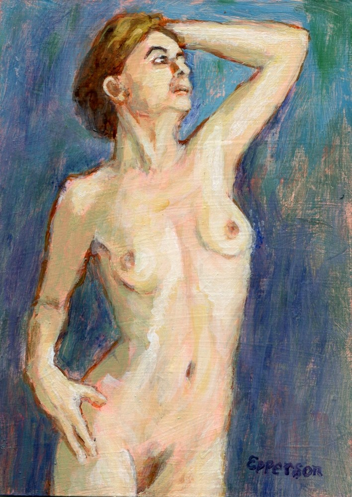 """""""Resolve"""" original fine art by Stanley Epperson"""