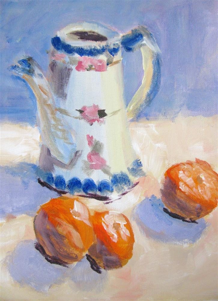 """Granny's Pitcher"" original fine art by Susan Elizabeth Jones"