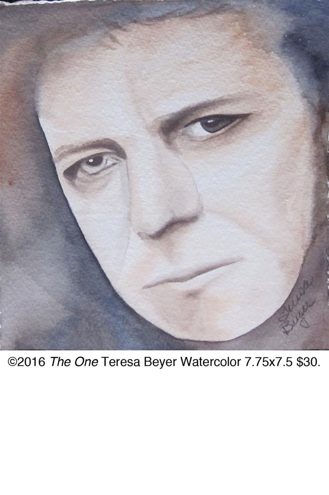 """The One"" original fine art by Teresa Beyer"