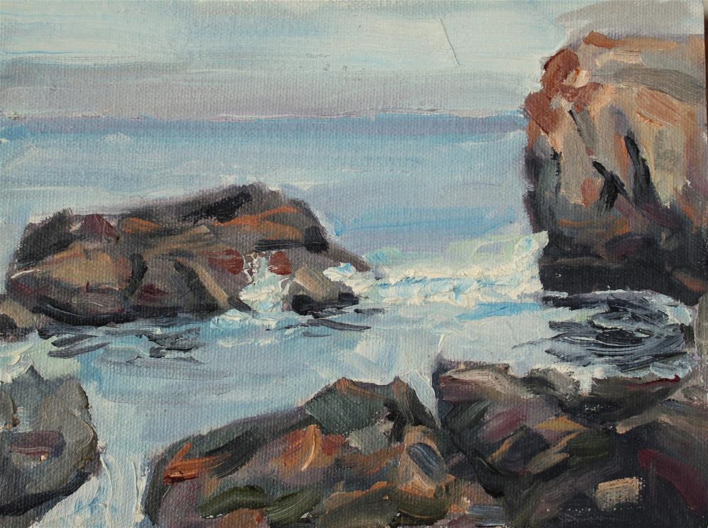 """Point Lobos"" original fine art by James Gorman"