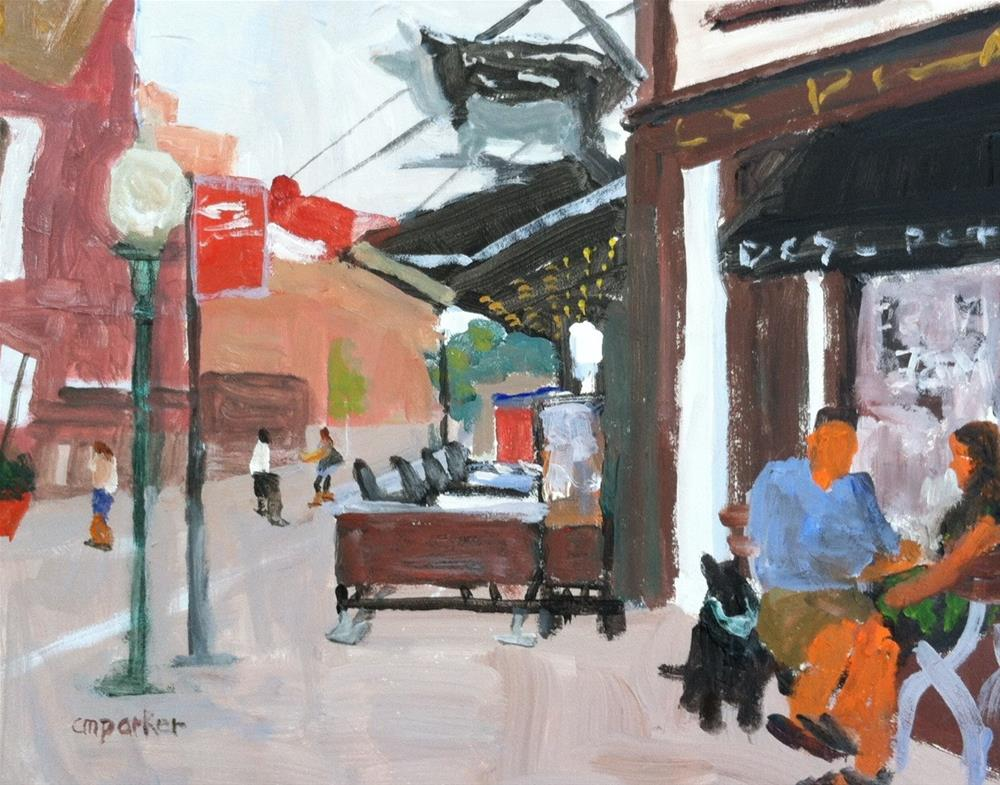 """Meatpacking District NYC"" original fine art by Christine Parker"