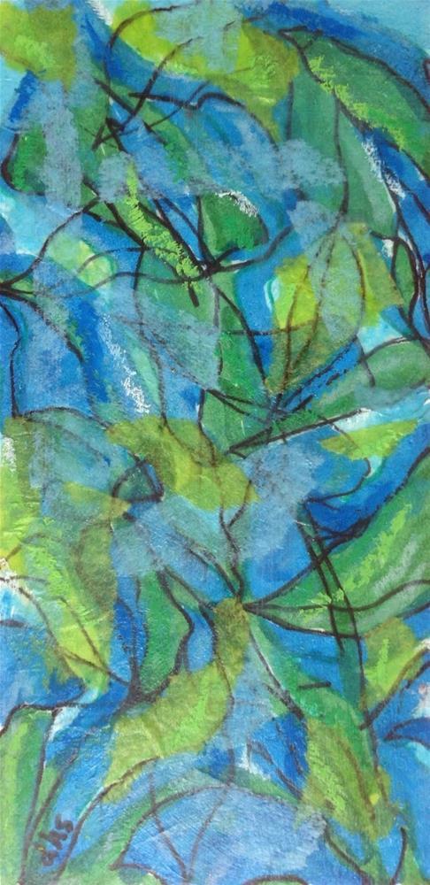 """""""Paper Prayer 31"""" original fine art by Dotty  Seiter"""