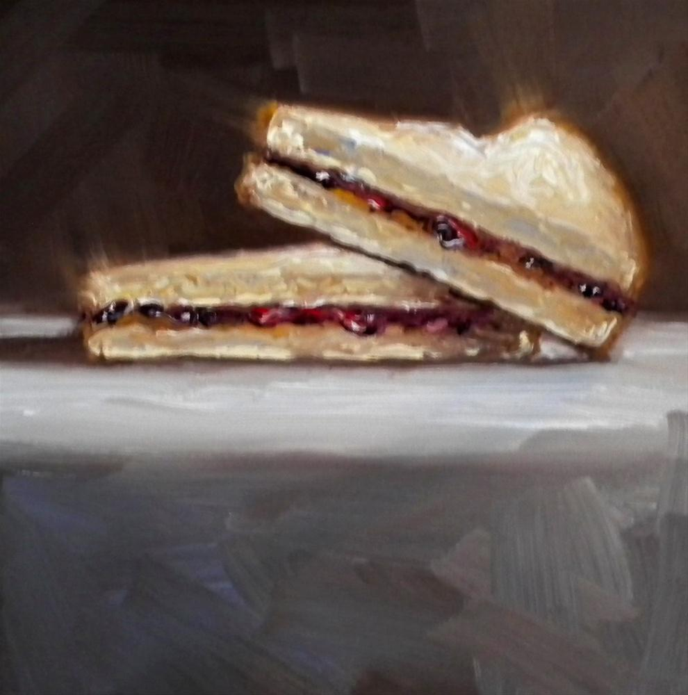"""Peanut Butter and Jelly"" original fine art by Darla McDowell"