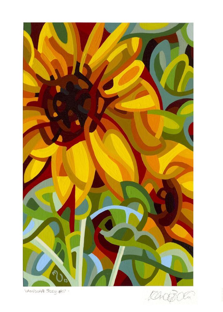 """Landscape Study #17"" original fine art by Mandy Budan"