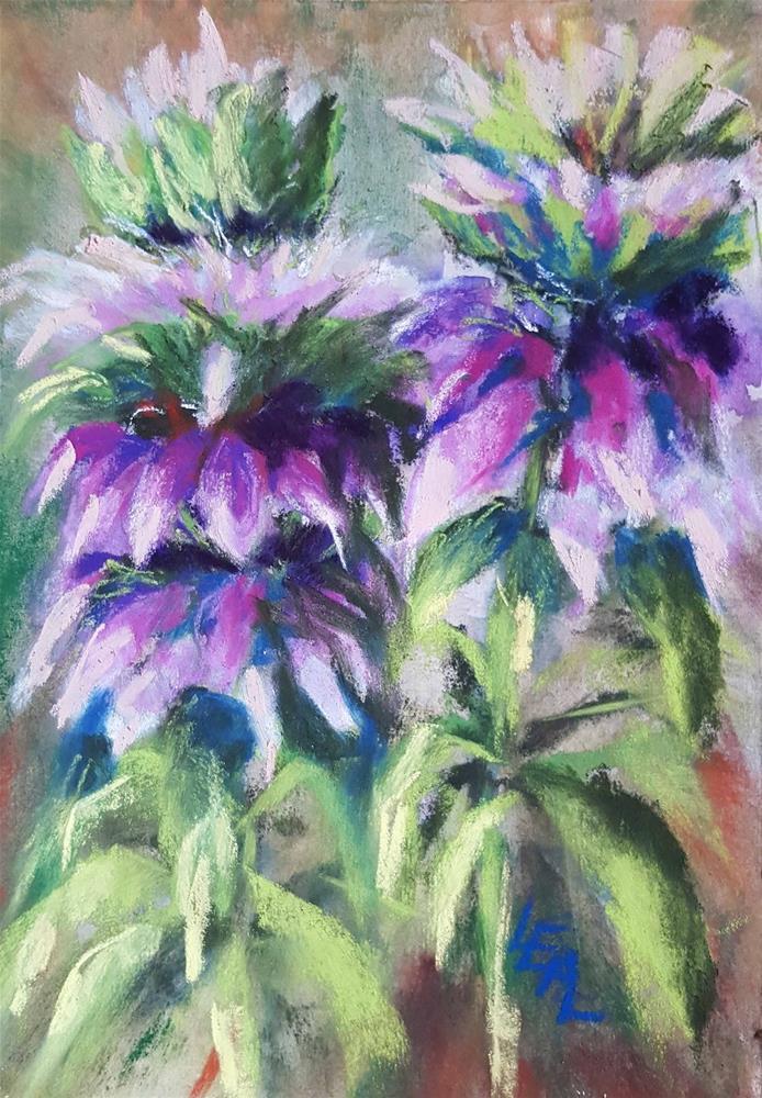 """Purple Horsemint"" original fine art by Anna Lisa Leal"