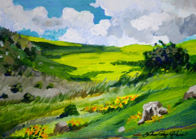 """Early Spring"" original fine art by JoAnne Perez Robinson"
