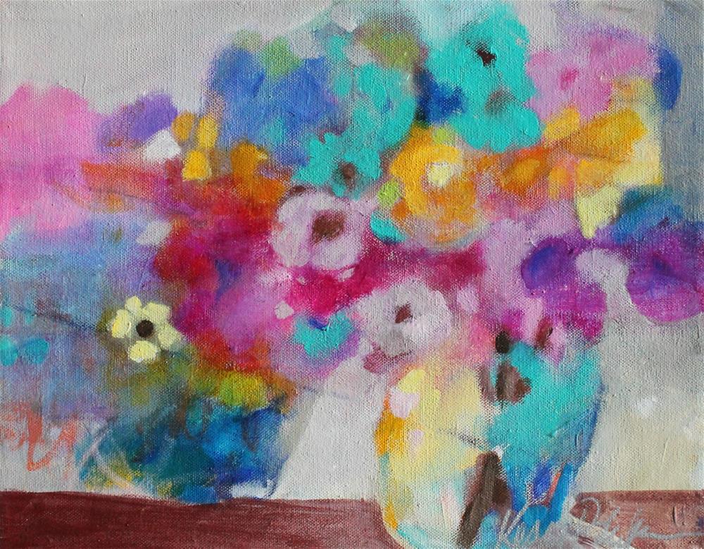 """Splash of Color"" original fine art by Kerri Blackman"