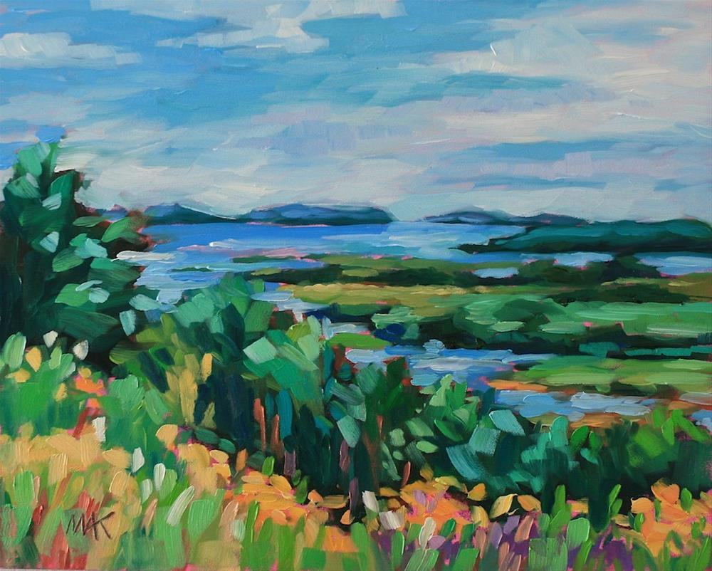 """""""View from Above"""" original fine art by Mary Anne Cary"""