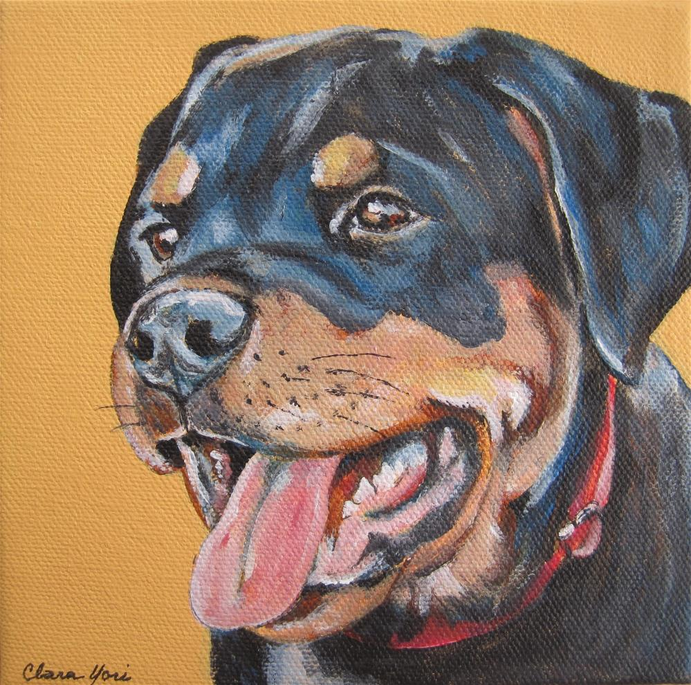 """Diesel"" original fine art by Clara Yori"