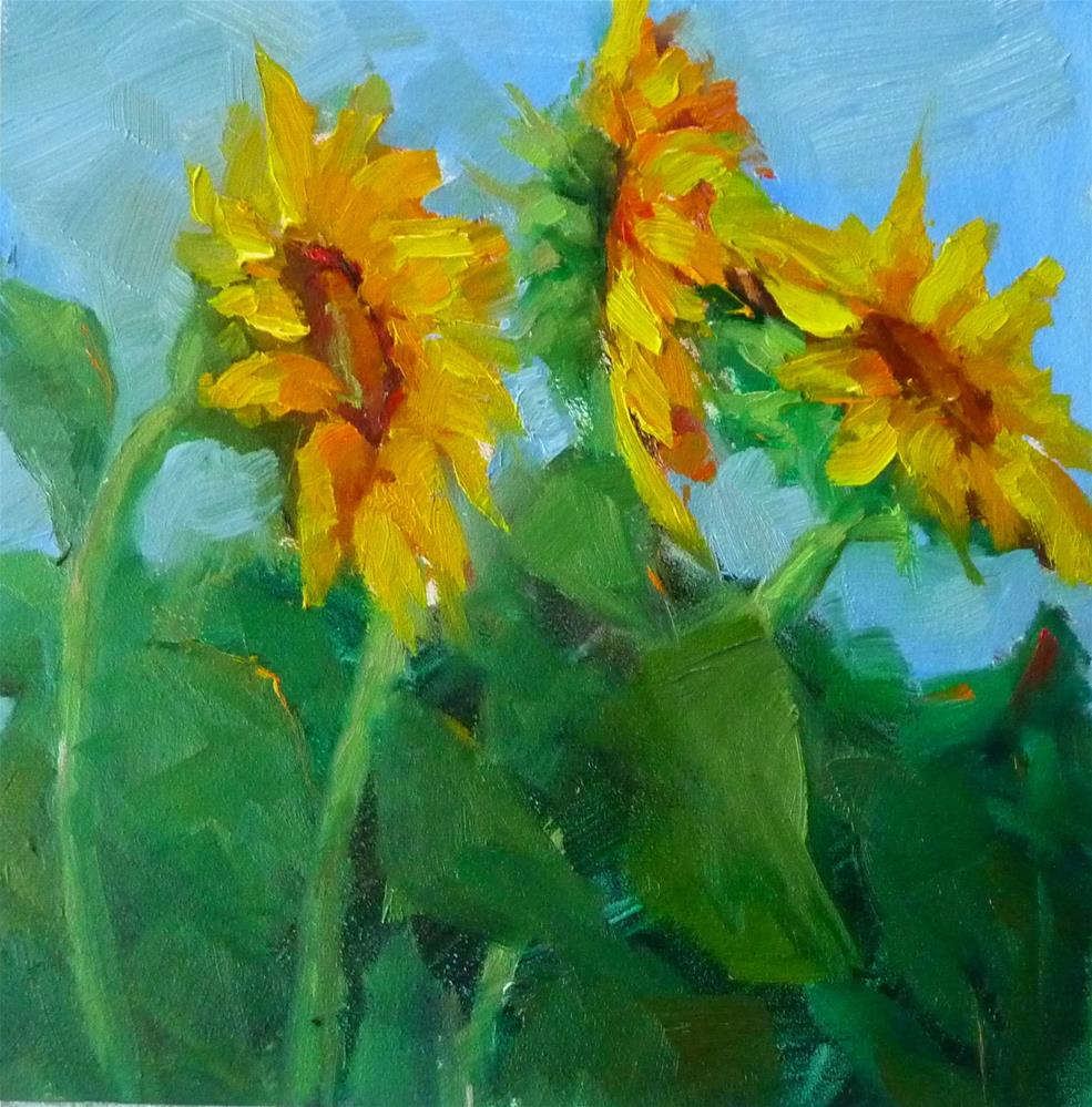 """Sunny Day"" original fine art by Carol Josefiak"