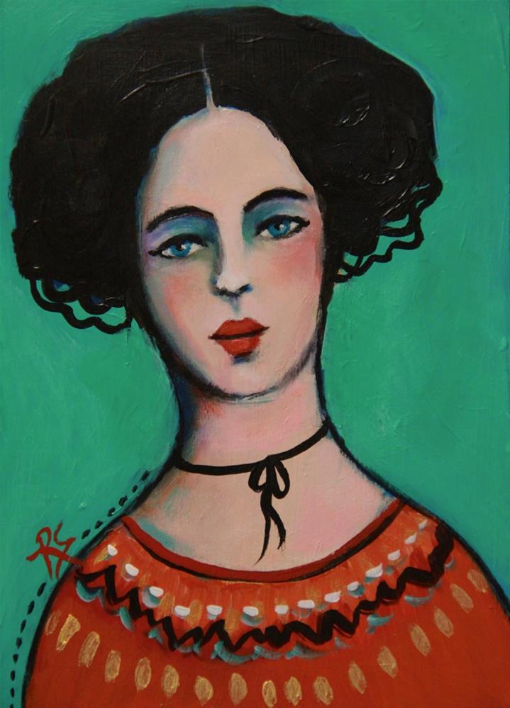 """Magdalena"" original fine art by Roberta Schmidt"