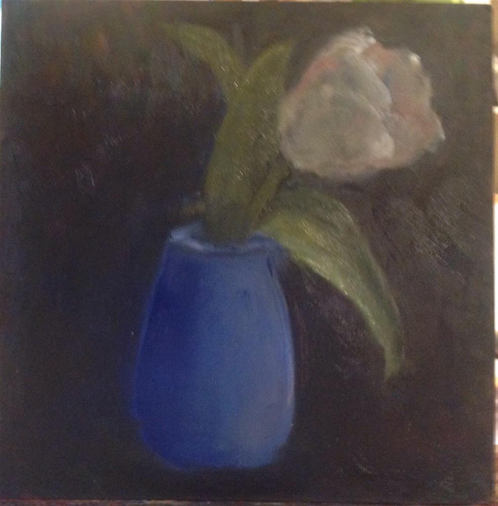 """Tulip"" original fine art by Lorraine Funk"